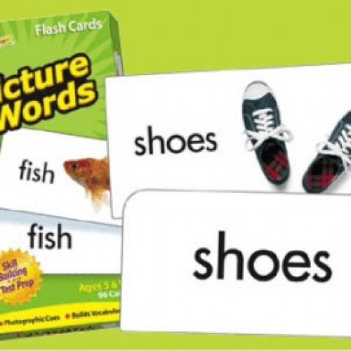 Picture words tarjetas didácticas 96 cartas