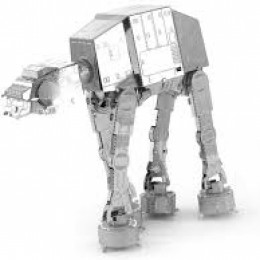 3D AT-AT Walker del imperio contraataca Star Wars
