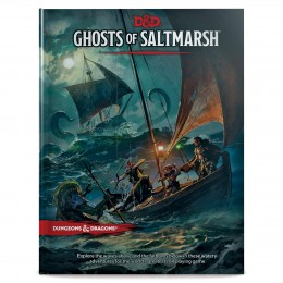 Dungeons & Dragons Ghosts of Saltmarsh Hardcover Book